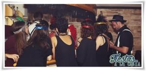 """Bar clandestino Cluedo """"El almacén"""", Años 20"""